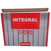 Алюминиевый радиатор отопления Integral 500/80 (10 секций)