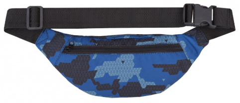 Сумка поясная GARD WAIST BAG  blue triangle print