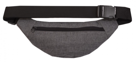 Сумочка на пояс WAIST BAG  grey melange