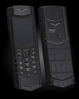Vertu Signature S Design Pure Black Alligator