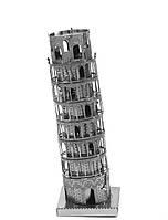 Конструктор 3D металлический Пизанская Башня Сборная модель
