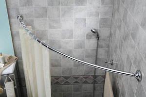 Карнизы для штор в ванную
