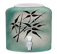 Диспенсер керамический для воды Шамот Бамбук