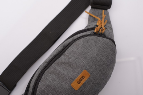 Сумочка поясная WAIST BAG  grey melange