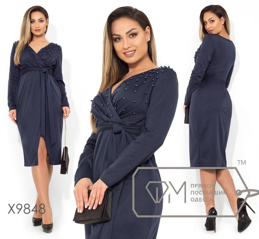 622afc4aaaf Платье женское ТМ Фабрика моды прямой поставщик большой размер 48-54 - ФАБРИКА  МОДЫ -