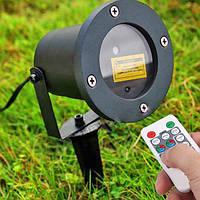 Лазерный уличный с узорами проектор с пультом, фото 1