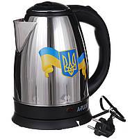 Электрочайник A-PLUS 2.0 л (1690) Герб Украины