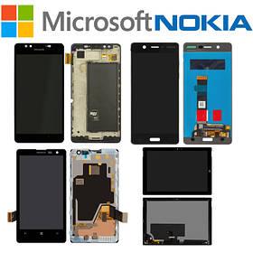 Дисплейные модули в сборе для смартфонов и планшетов Microsoft - Nokia