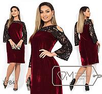 Платье женское ТМ Фабрика моды прямой поставщик большой размер 48-54