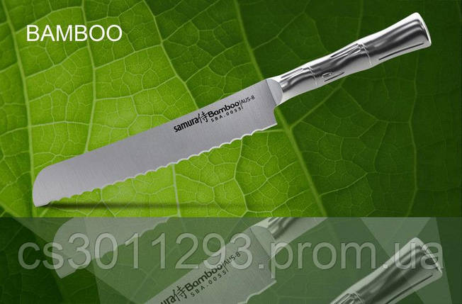 Нож для хлеба, Нож кухонный Samura Bamboo для хлеба, 200 мм, SBA-0055, фото 2
