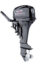 Мотор Parsun T15 BMS PRO  (2-х тактный, 15 + л.с. эндуро, цифровое зажигание , выпрямитель 12V)