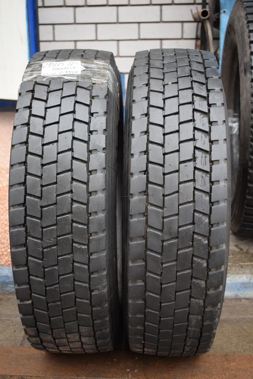 Грузовые шины б/у 215/75 R17.5 Hankook, ТЯГА, пара