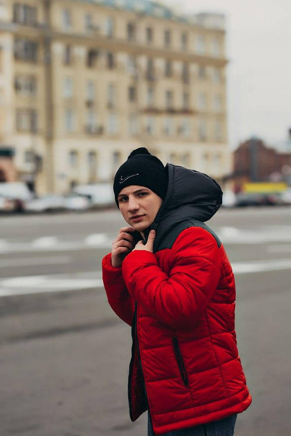 Комплект Куртка мужская Зимняя  Найк + утепленные штаны. Барсетка  Nike и перчатки в Подарок., фото 2