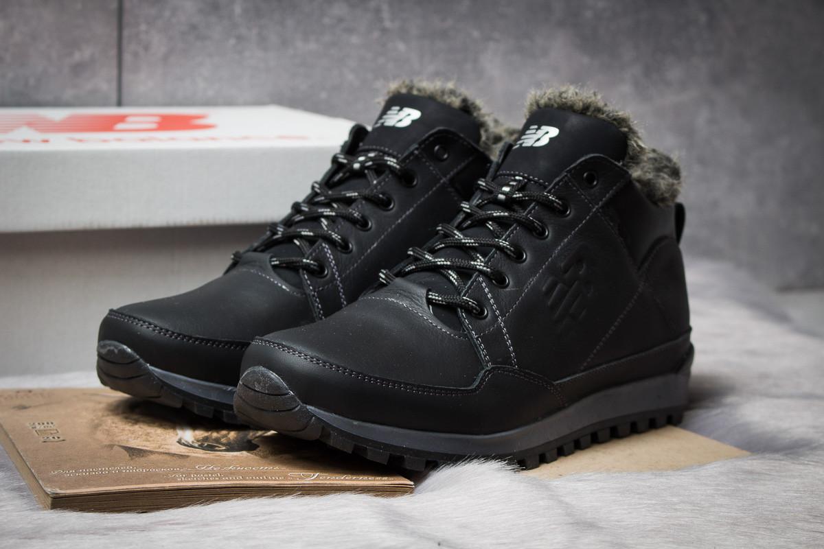 Зимние мужские ботинки 30673, New Balance Expensive, черные ( нет в наличии  )