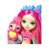 Enchantimals. Кукла с любимым питомцем, PEEKI PARROT™ (FJJ21-FNH22), фото 5