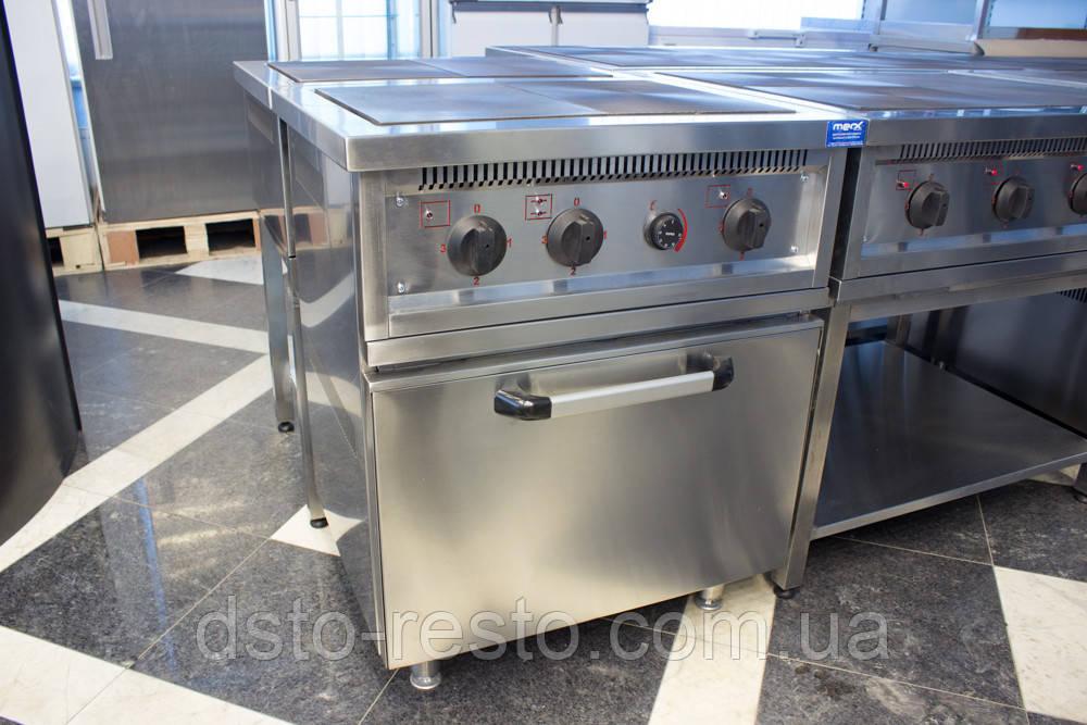 Плита электрическая 2-х конф. с духовкой ПЕ700-2-Ш