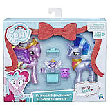 My Little Pony Принцесса Каденс, Шайнин Армор и Флари Харт набор Праздник, фото 2