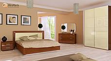Спальня Белла (ваниль глянец /вишня бюзум), фото 2
