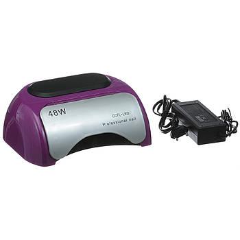 Лампа гибридная Nail Professional 48W CCFL+LED Фиолетовая