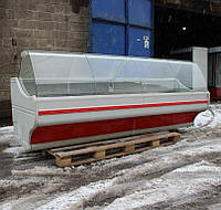 """Холодильная Витрина """"MAWI"""" WCH 3,0 м. Выкладка 73 см (Польша), ширина выкладки 78 см. Б/у , фото 1"""