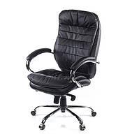 Офисное кресло АКЛАС Валенсия Черное Хром, КОД: 140540