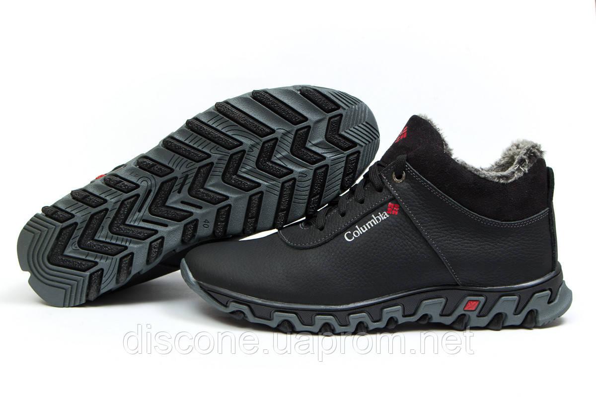 Зимние ботинки на меху ► Columbia Track II,  черные (Код: 30693) ►(нет на складе) П Р О Д А Н О!