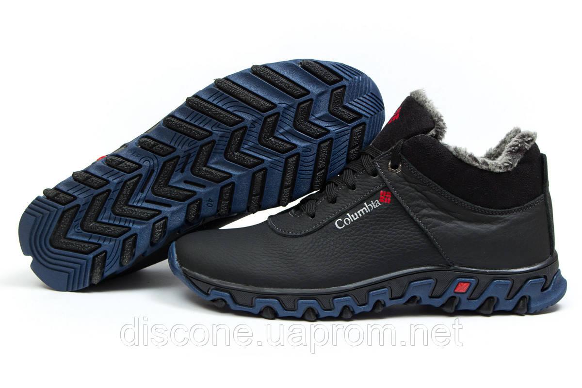 Зимние ботинки на меху ► Columbia Track II,  черные (Код: 30694) ►(нет на складе) П Р О Д А Н О!
