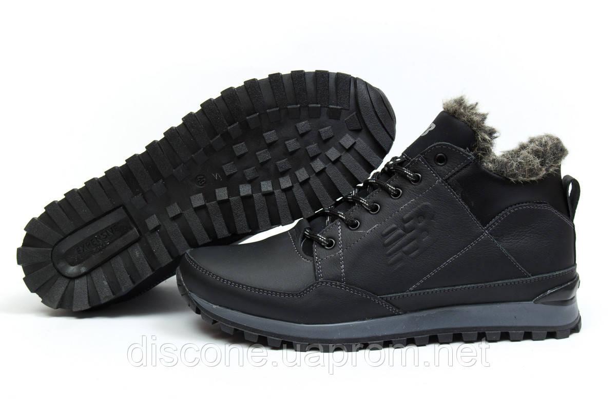 Зимние ботинки на меху ► New Balance Expensive,  черные (Код: 30673) ►(нет на складе) П Р О Д А Н О!