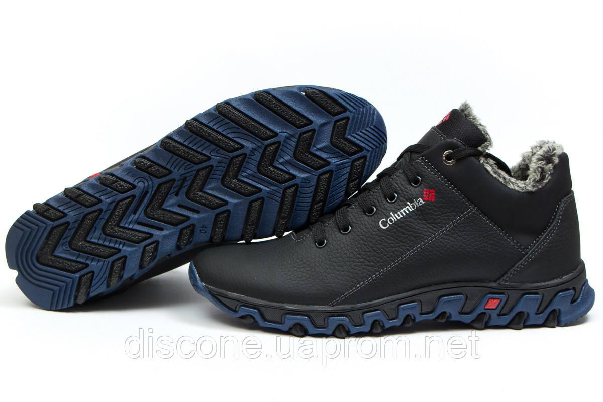 Зимние ботинки на меху ► Columbia Track II,  черные (Код: 30952) ►(нет на складе) П Р О Д А Н О!