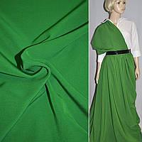 Креп костюмный бистрейч зеленый (оттенок) ш.150 (10301.006)