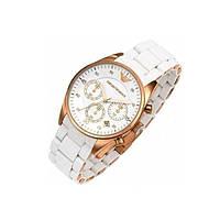 Классические и стильные наручные часы Armani Белые и Темносиние