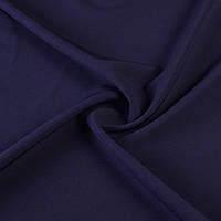 Креп костюмный бистрейч синий темный с фиолетовым оттенком ш.150 (10301.027)
