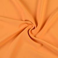 Креп костюмный бистрейч желтый с оранжевым оттенком ш.150 (10301.031)