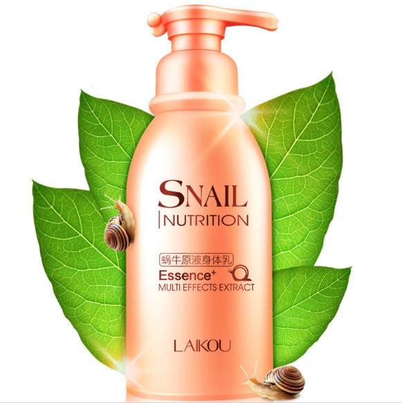 Увлажняющий лосьон для тела с улиточной слизью Laikou Snail Nutrition 250 МЛ