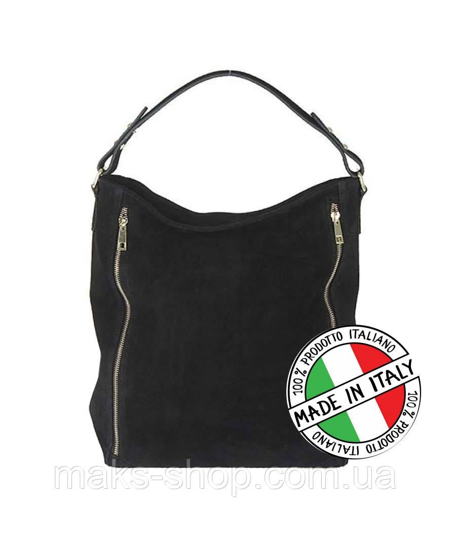 05b00ea9d134 Женская кожаная сумка Vera Pelle Италия Vera Pelle S0549ZM - Maks Shop-  надежный и перспективный