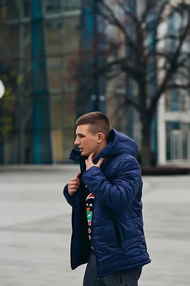 Куртка мужская Зимняя Nike + штаны найк . Комплект спортивный + Барсетка и перчатки в Подарок., фото 3