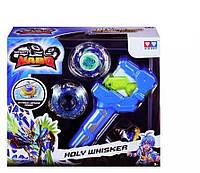 Волчок Infinity Nado Серия Атлетик Holy Whisker с устройством запуска YW624501