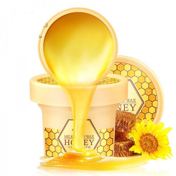 Парафиновая маска-пленка для рук Laikou Milk Hand Wax Honey, 120ml