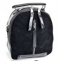 950UAH. 950 грн. В наличии. Женский кожаный рюкзак A6039-1 Black кожаные  рюкзаки купить ... f885793b85a