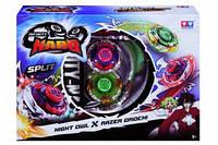 Волчок Auldey Infinity Nado Сплит Night Owl и Razer Orochi с устройством запуска YW624604