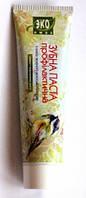 Натуральная Зубная паста с маслом зеленого ореха , 100мл, Эколюкс