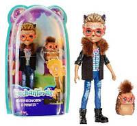 Enchantimals. Кукла с любимым питомцем, HIXBY HEDGEHOG™&POINTER™ (FJJ22-FNH22)