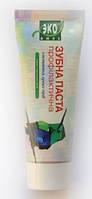 Натуральная Зубная паста с экстрактом луговых трав 75мл, Эколюкс