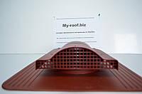 Кровельный аэратор KronoPlast WP 1-4 RAL 3009 красный  под кровельное покрытие