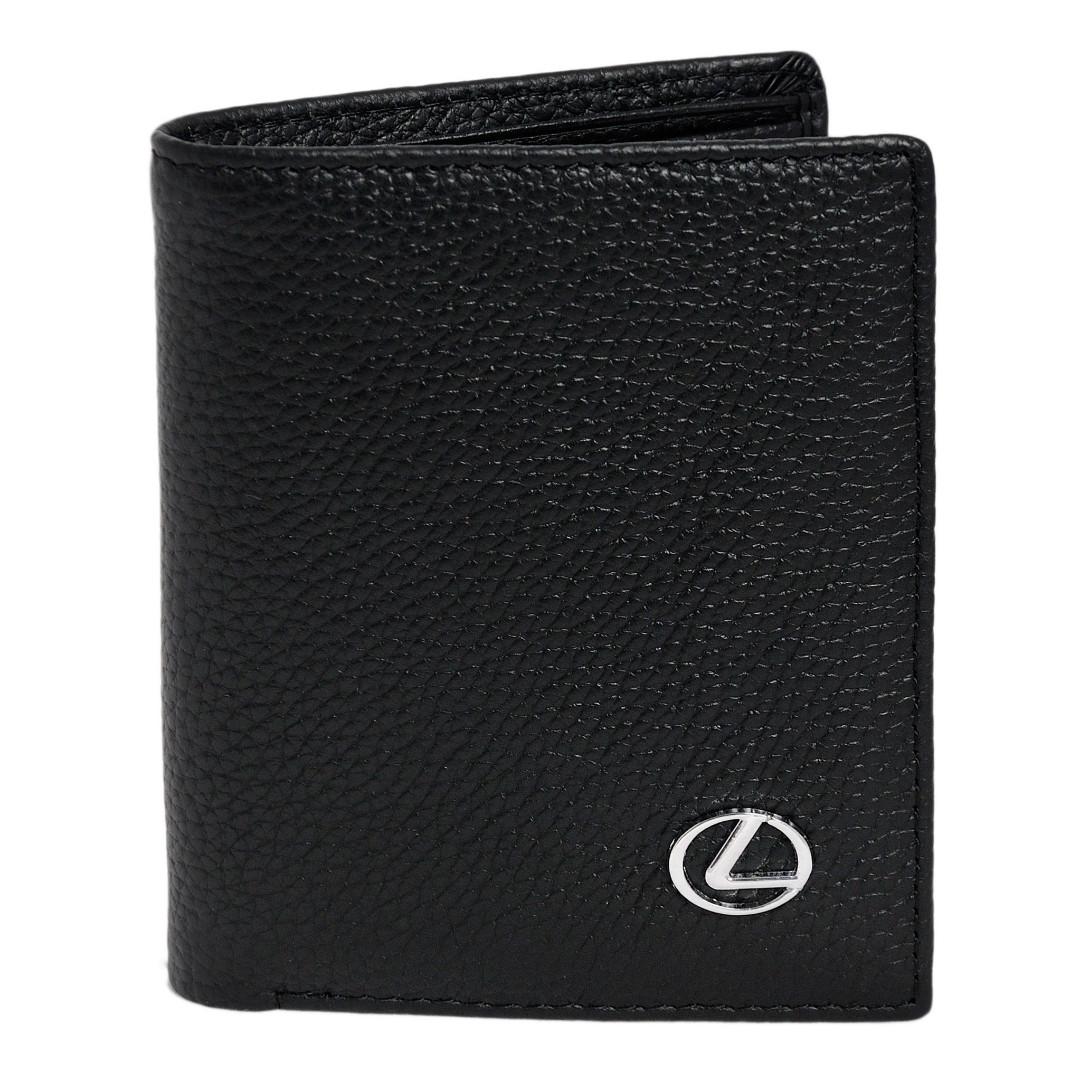 Гаманець подвійного складання з логотипом Lexus Лексус