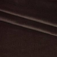 М/вельвет стр. темно-коричневый однотон. ш.150