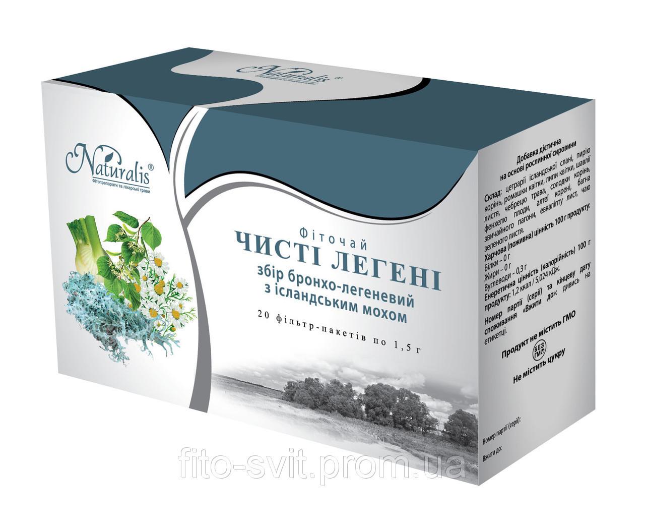 Чистые лёгкие (бронхо-легочный с исландским мхом) 20пак