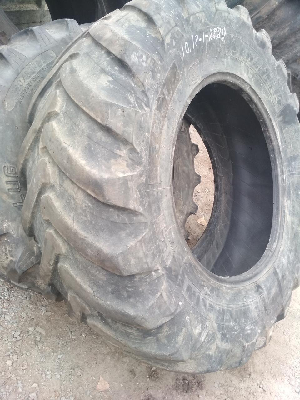Шины б/у 440/80R28 (16.9R28) Michelin