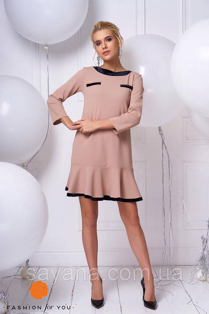 c5b2a7d41d1dcf Купить Женское платье с отделкой в расцветках. ТС-6-1218 недорого в ...
