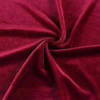 Велюр стрейч червоний темний, ш.160 (10855.041)